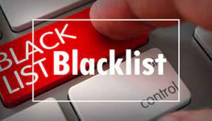 بلک لیست یا لیست سیاه چیست؟